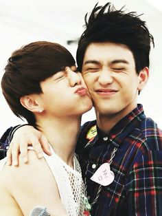 """Mark and Jr are my top 2 bias that's why knowing they have this loveteam """"Jinmark"""", it just made my life so much easier. :D"""