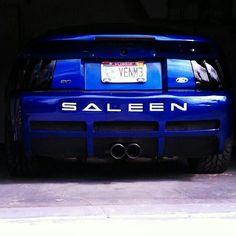 Rear Shot - Saleen Mustang