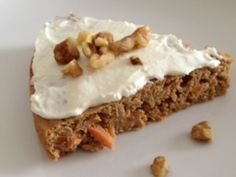 protein packed carrot cake