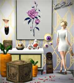 Sims 4 CC's - The Best: Set Vol 46 Decoratives by Jennisims