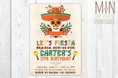 Fiesta Birthday,fiesta birthday invitation,mexican fiesta,Fiesta Birthday Invitation, Fiesta Invitation, Cinco De Mayo,mexico invitation
