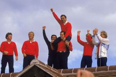 Jacklin ends US domination.  At The Belfry in 1985, captain Tony Jacklin led Europe to its first Ryder Cup victory by 16 ½ - 11 ½. The last time a team from the eastern shore of the Atlantic had lifted the trophy was 1957, when it was composed only of players from Great Britain. Scotland's Sam Torrance sunk the putt that confirmed a victory masterminded by Jacklin. Tears and champagne flowed as Europe celebrated a victory that ended the era of subservience to America's golfers. #RyderCup