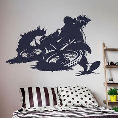 Um adesivo perfeitos para quem adora fazer motocross e, é fã do desporto. Decore a sua casa com os nossos autocolantes decorativos de desporto.