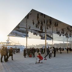 Vieux Port Marseille by Foster + Partners