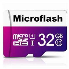 Microflash 32GB Micro SDHC Card Class 10 TF Card Memory Card