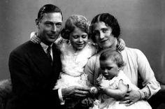 George VI ( ALbert) Princess Elizabeth, Elizabeth I and Princess Margaret