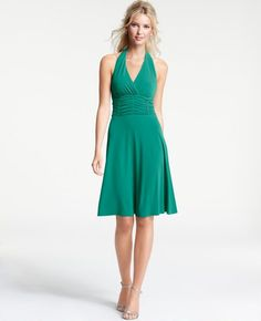 Ann Taylor - AT Bridesmaid Dresses - Jersey Halter Dress