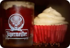 Bake Me Away:  Blame It On The AlcoholJager Bomb cupcakes!