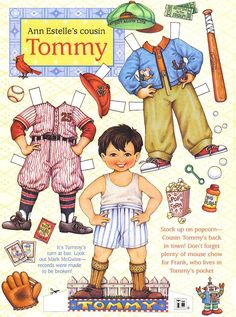 Ann Estelle's cousin Tommy