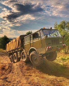 Tatra 813 Kolos 8x8 Truck Military Armored Vehicles, Motor Car, Techno, 4x4, Antique Cars, Automobile, Monster Trucks, Aircraft, Military