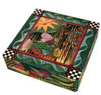 Helen Heins Peterson, Modern Folk Art, Whimsical Primitives, Painted Furniture & Woodworks