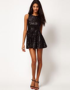 TFNC | TFNC Sequin Prom Dress at ASOS