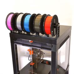 Prusa Printer Enclosure V2 – with MMU2S support #practical