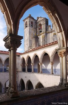 Templar's convent and castle in Tomar, Portugal. http://victortravelblog.com/2014/06/10/castles-knights-templar-in-portugal-history/