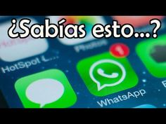Lo que Desconocías de WhatsApp | Secretos de WhatsApp - YouTube