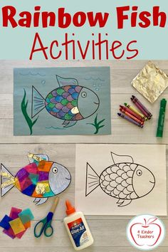 Fun Rainbow Fish Activities