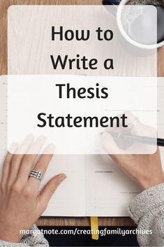 How to Write a Thesis Statement — Margot Note Consulting LLC Writing A Thesis Statement, Thesis Writing, Academic Writing, Teaching Writing, Writing Prompts, High School Writing, Homeschool High School, Homeschooling, Tools For Teaching