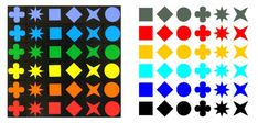 Qwirkle Color scheme for those who are color blind. Upcycled Crafts, Diy Crafts, Mexican Train Dominoes, Tiles Game, Giant Games, Diy Games, Board Games, Color Schemes, Blog