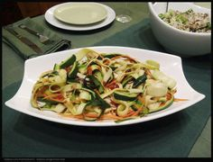 Great photo of my Zucchini Fettuccine by  Roman Liufa...Thank you Roman! www.romanliufa.500px.com