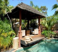 Tropical home design with mini pool (100)