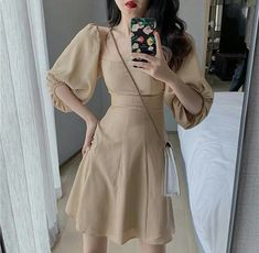 🌸 S M ☎️ Contact to order : 0903043694 or Direct Stylish Dress Designs, Stylish Dresses, Simple Dresses, Pretty Dresses, Casual Dresses, Fashion Dresses, Sexy Dresses, Asian Fashion, Fashion Beauty