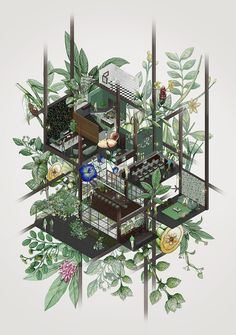 Gallery of The Best Architecture Drawings of 2017  - 72