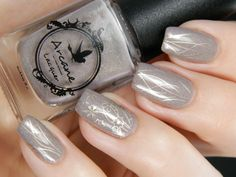 Better Day Nail with Arcane Lacquer 'Residuum'