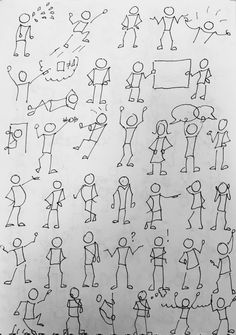 Drawing Tips draw a stickman Drawing Tips draw a stickman Drawing Lessons, Drawing Tips, Drawing Reference, Line Drawing, Doodle Drawings, Easy Drawings, Doodle Art, Visual Note Taking, Stick Figure Drawing