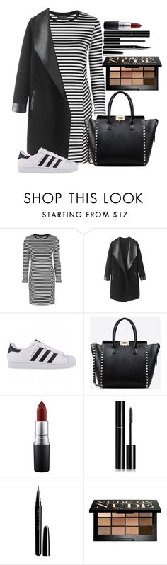 """Untitled #1337"" by fabianarveloc on Polyvore featuring Topshop, Columbia, adidas Originals, Valentino, MAC Cosmetics, Chanel, Marc Jacobs and Bobbi Brown Cosmetics"