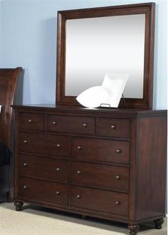 341BR32 in  by Liberty Furniture Industries in Fort Myers, FL - 9 Drawer Dresser