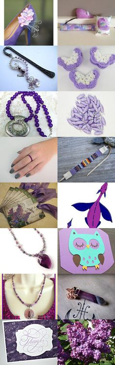 ~ Purple ~ by WEcraft on Etsy--Pinned+with+TreasuryPin.com