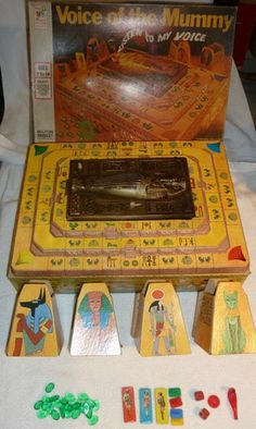 Milton Bradley Voice of the Mummy.  This was my favorite game!