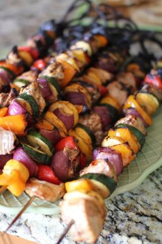 Shish Kabobs with Zucchini