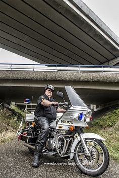 Me and my California State University Police Kawasaki