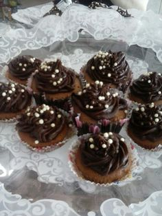 Cupcake Chocolate amargo by Carina