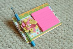 Post-it note gift holder tutorial