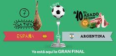 ¡Participa en la gran final del Mundial de foodball de eltenedor! Vota y gana deliciosas cenas de grupo: http://j.mp/1iGHVhv