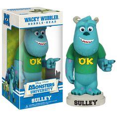 monsters university sulley merch | Monsters University - Sulley Wacky Wobbler : Forbidden Planet