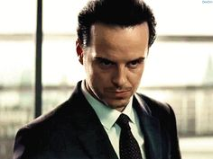 dex5m: Jim Moriarty Andrew Scott in the new Spectre trailer. Spectre is apparently the episode where Jim Moriarty recruits Sebastian Moran. These BBC specials are out of control!