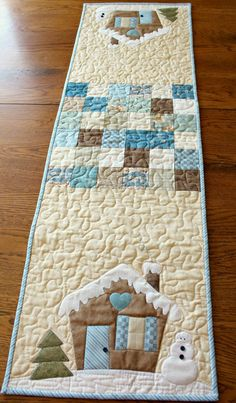 Winter Home Table Runner   Craftsy
