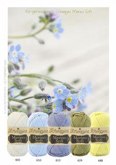 Merino Soft kleurinspiratie pakket Forget me not