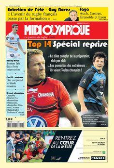 Midi Olympique - Lundi 12 Août 2013 - N° 5194