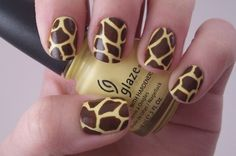 I can think of a little girl who needs nails like these...