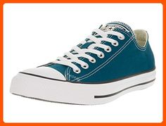 1a4997e1c71aa7 Converse Unisex Chuck Taylor All Star Ox Low Top Classic Blue Lagoon  Sneakers - 12 D(M) US  Old school never looked so fly. Rep your era to the  fullest in a ...