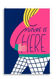 Future Is Here Card by 1973