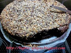 Φουντουκόπιτα σοκολατένια Cake Recipes, Dessert Recipes, Greek Cooking, Oreo Pops, Greek Recipes, Sweet Desserts, Chocolate Desserts, Sweet Tooth, Sweet Treats