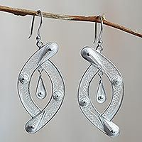 Sterling silver filigree earrings, 'Unison' from @NOVICA, They help #artisans succeed worldwide.