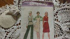 Check out this item in my Etsy shop https://www.etsy.com/listing/511641395/vintage-uncut-casual-wear-pattern