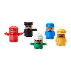 LILLABO Spielfigur IKEA Die Teile sind auswechselbar - so können Kinder sie auf verschiedene Art kombinieren und eigene Figuren gestalten.