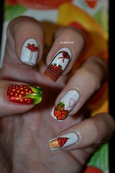 Kakine Nail Art #nail #nails #nailart